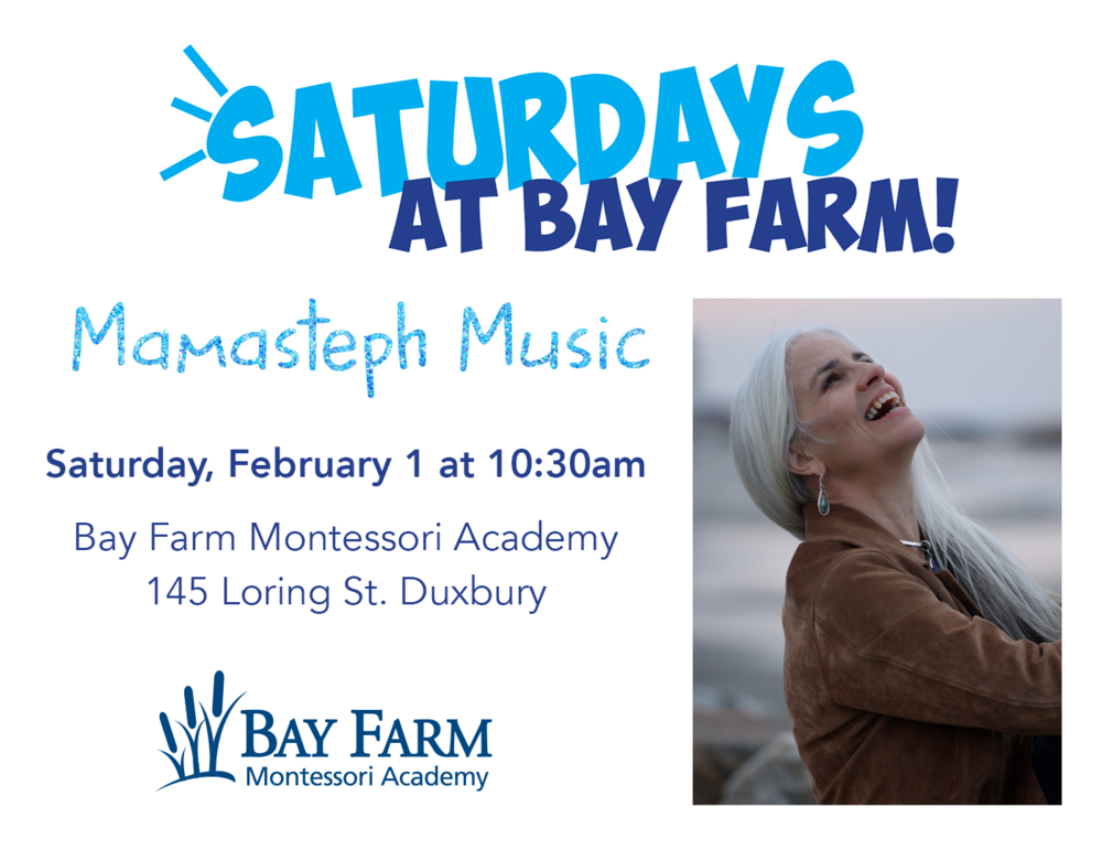 Saturdays at Bay Farm with Mamasteph Music!
