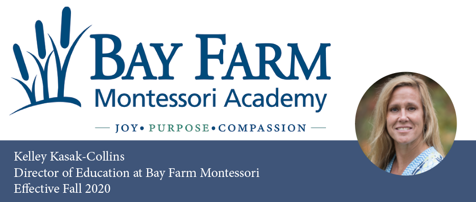 New Director of Education at Bay Farm Montessori Academy