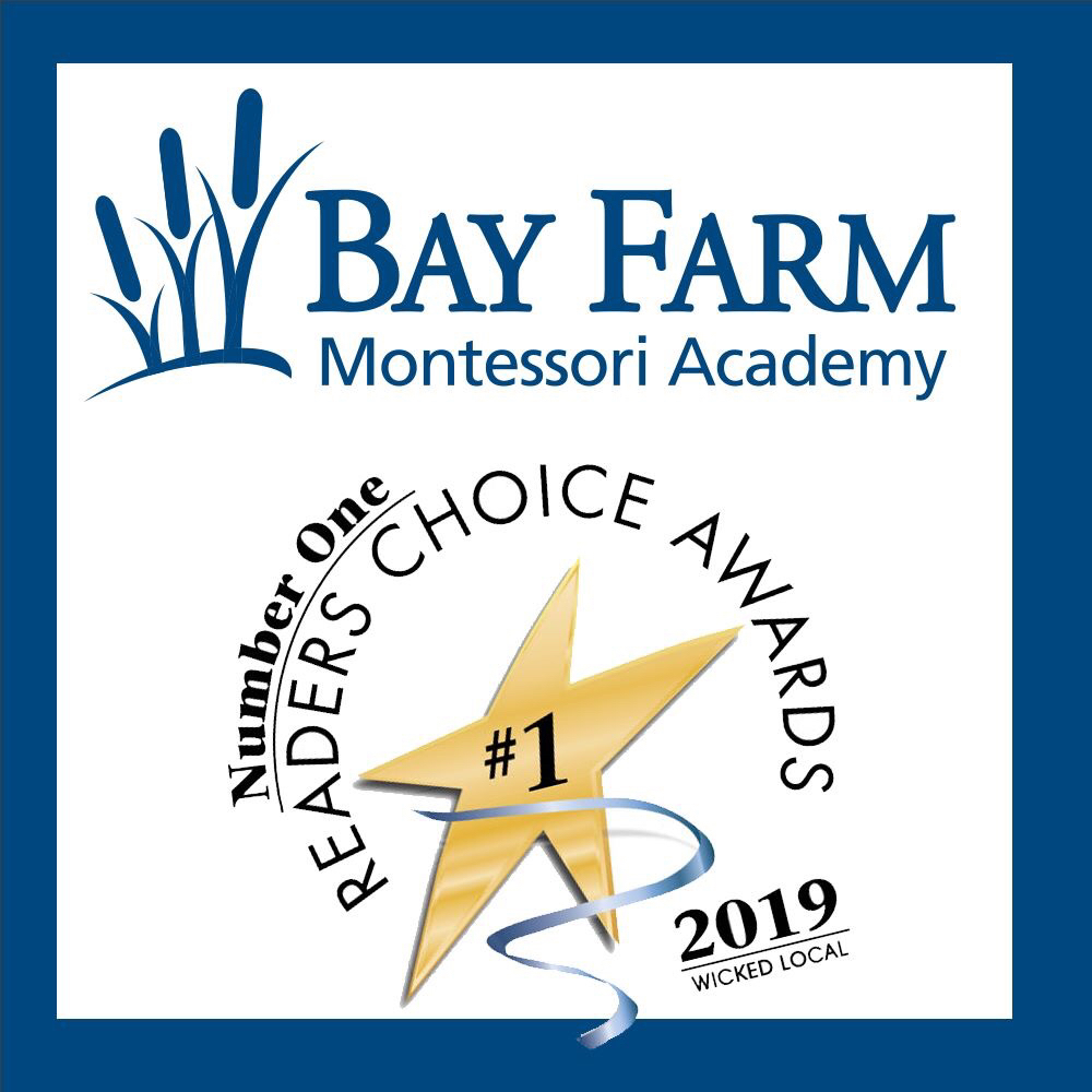 Bay Farm Children's House was voted #1 Preschool in Duxbury!