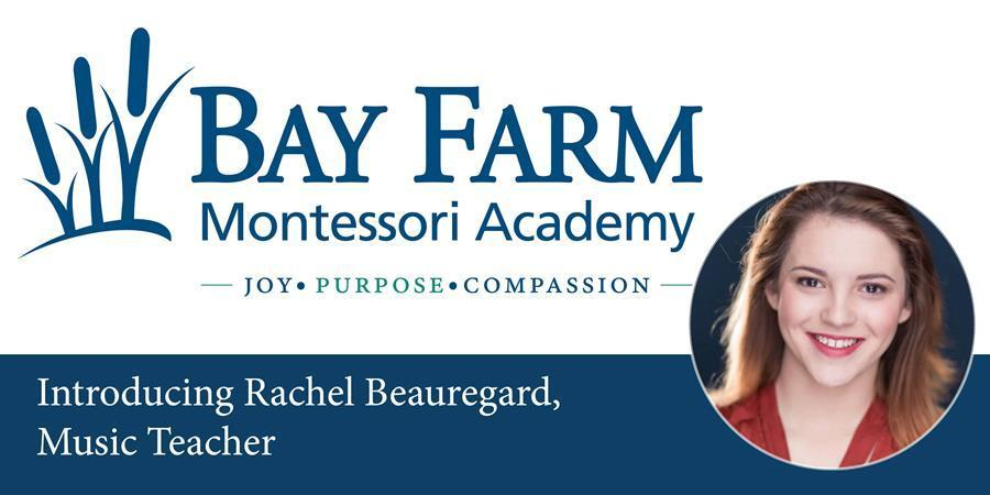 Introducing Bay Farm's Music Teacher Rachel Beauregard