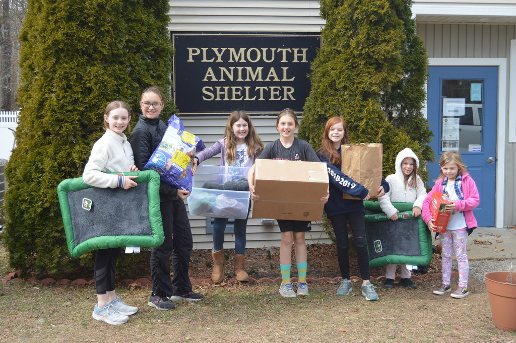 Plymouth Animal Shelter Donation